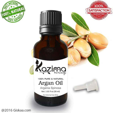Kazima Argan Essential Oil- 100% Pure Natural And Undiluted Oil- 30ml