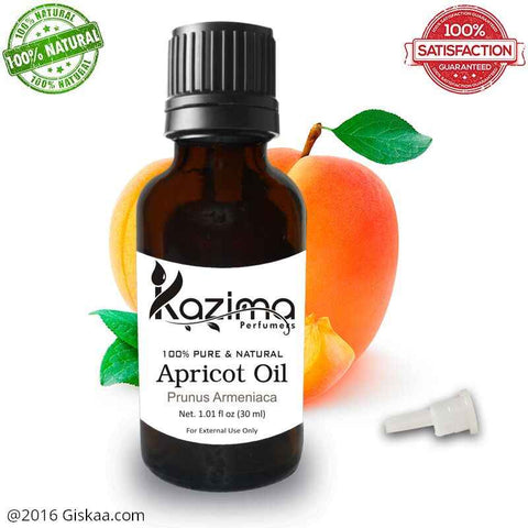 Kazima Apricot Essential Oil- 100% Pure Natural And Undiluted Oil- 30ml