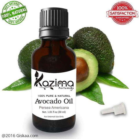 Kazima Avocado Essential Oil- 100% Pure Natural And Undiluted Oil- 30ml
