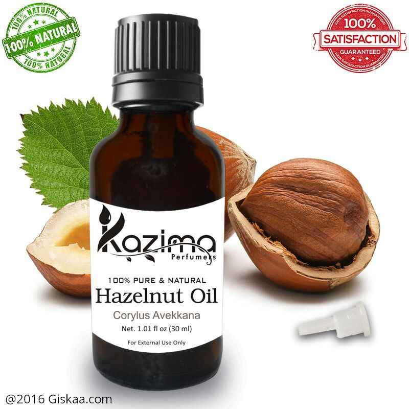 Kazima Hazelnut Essential Oil- 100% Pure Natural And Undiluted Oil- 30ml