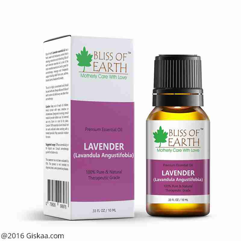 Bliss of Earth 100% Pure Premium Lavender Essential Oil- Lavandula Angustifobia - 10 ml