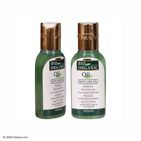 Indus Valley Bio Organic Oil Set of 2