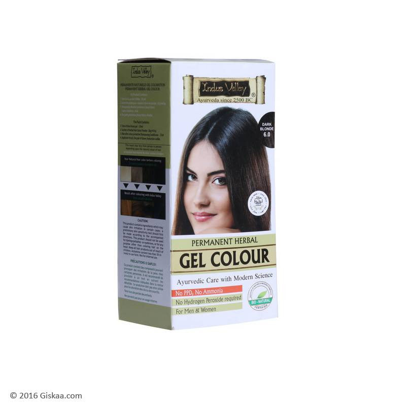 Indus Valley Natural Dark Blonde Gel Hair Colour