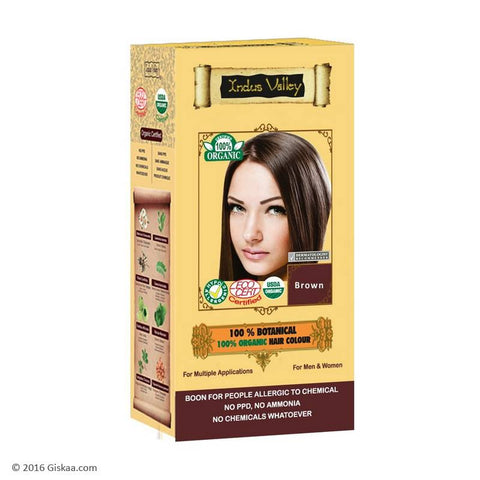 Indus Valley 100% Botanical Brown Hair Colour