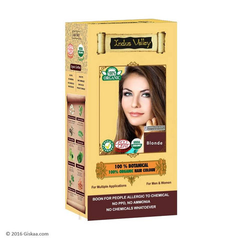 Indus Valley 100% Botanical Blonde Hair Colour