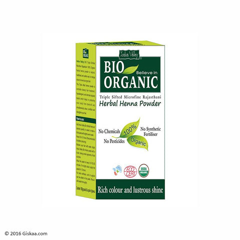 Indus Valley Bio Organic Henna Powder
