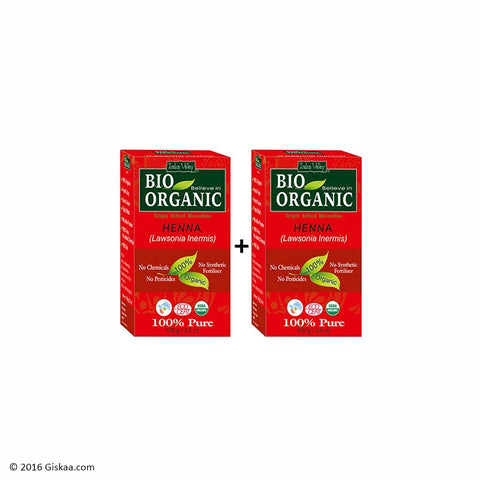 Indus Valley Bio Organic Red Henna Set of 2