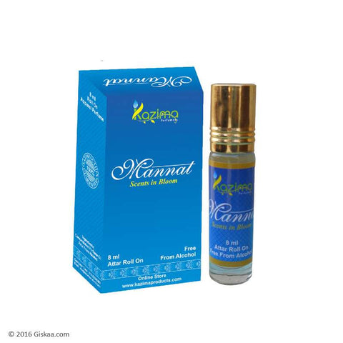 Kazima Mannat Apparel Concentrated Attar Perfume (8ml Rollon free From Alcohol)