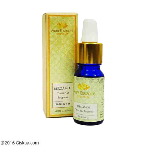 Aura Essence Pure Bergamot Essential Oil Pack of 2