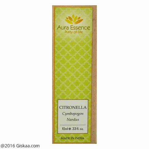 Aura Essence Pure Citronella Essential Oil Pack of 2