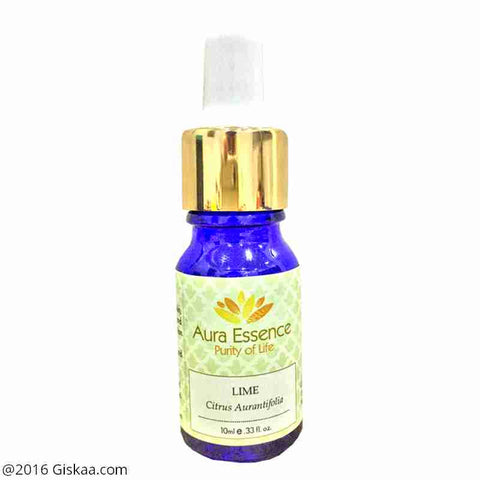 Aura Essence Pure Lime Essential Oil Pack of 2