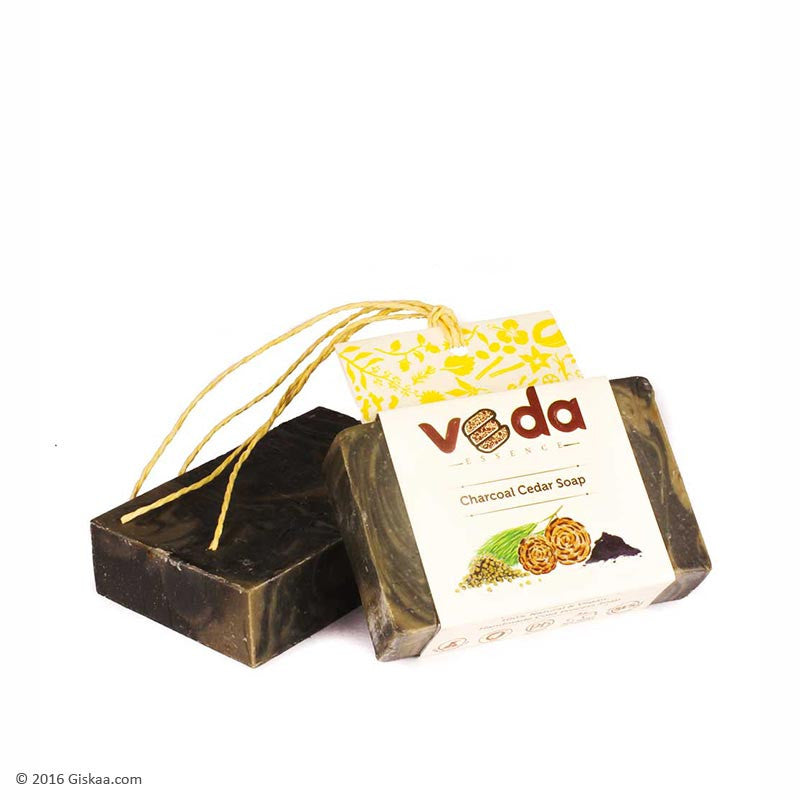Veda Essence Charcoal Cedar Soap