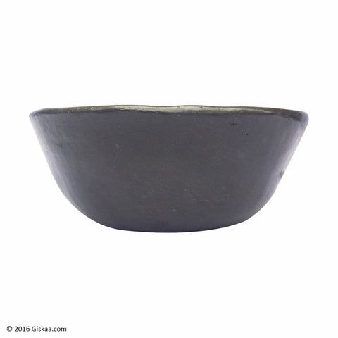 Black Pottery - Soup Bowl