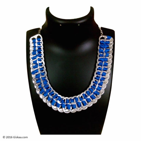 The Artistic Can Midnight Blues Necklace