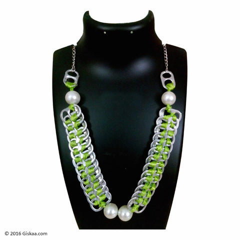 The Artistic Can Green Lush Necklace