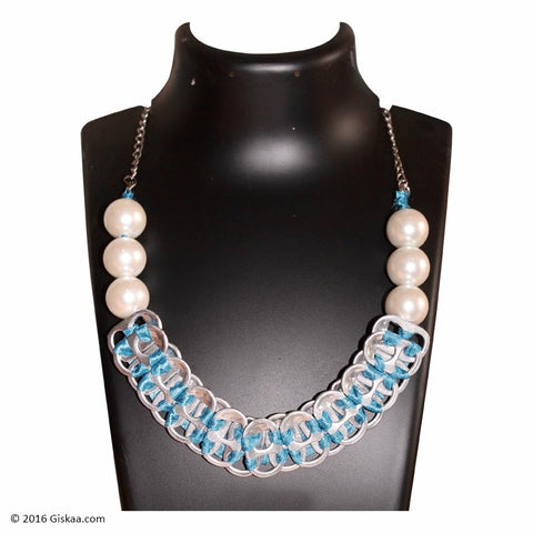The Artistic Can Blue Regalia Necklace