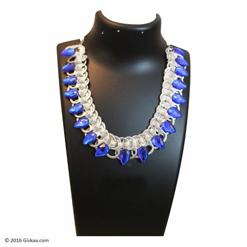 The Artistic Can Blue Dazzle Necklace