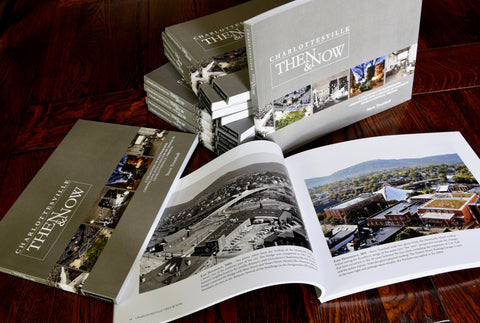 Charlottesville Then & Now- Bulk order, 12 count, quantity discount