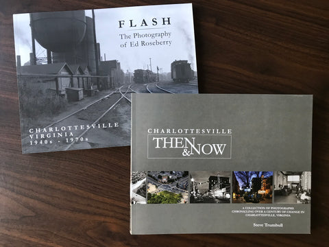 "2 Book Combo: ""FLASH"" and ""Charlottesville Then & Now"""