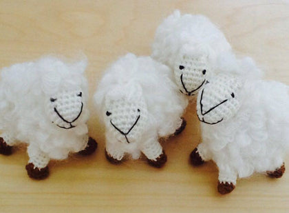"Standing Toy ""Sheep"""