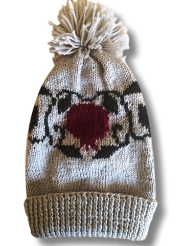 "Knitted Beanies ""Pomegranate"""