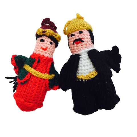 Christmas Ornament Taraz Pair Man/Woman