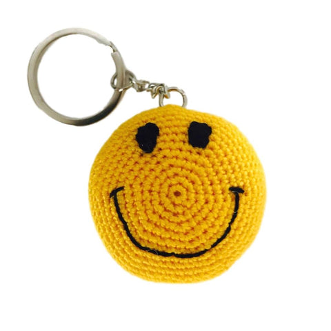 "Key Tag ""Smiley Emoji"""