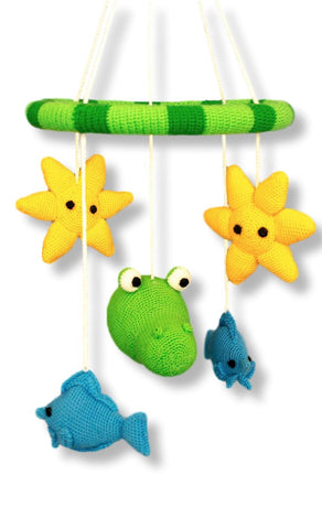 "Baby Mobile ""Crocodile"""