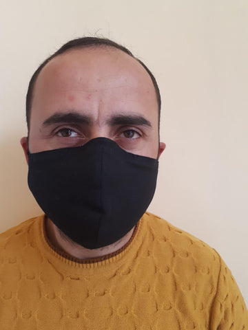 Mask 2020 - Face Mask for Personal Protection - Black