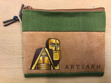 "Hand Painted Coin Purse ""Artsakh"""