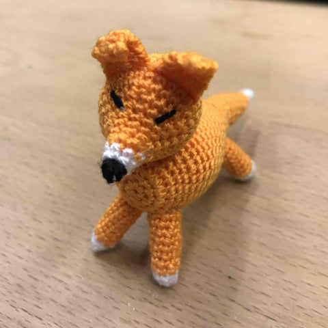 "Standing Toy ""Fox"""