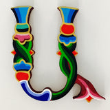 Hand-Painted Armenian Letters