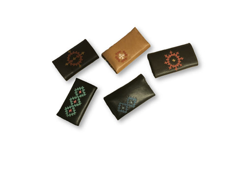 Marash Embroidered Key Wallets