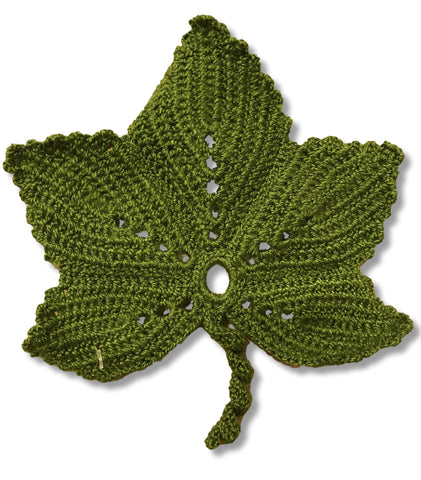 "Coaster ""Grape Leaf"""