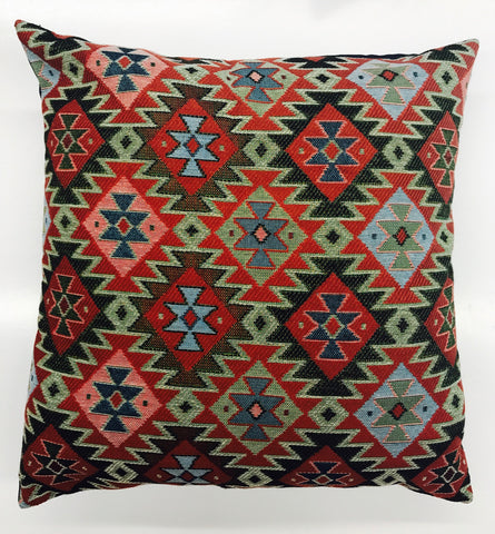 Vardenis Pillow Cover in Armenian Textile Fabric
