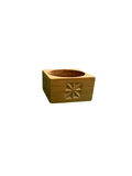 Wooden Tea Candle Holders/set 3
