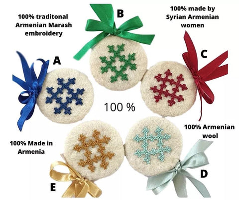 Christmas 2020 Wool and Marash Embroidery Set/5