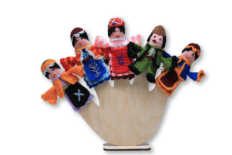 Taraz Crocheted Finger Puppets