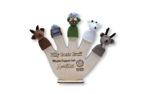 Billy Goat Crocheted Finger Puppets