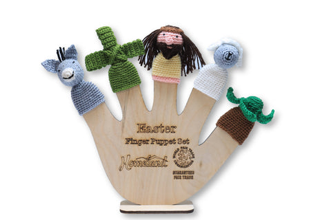 Easter Crocheted Finger Puppets