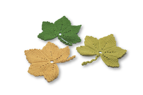 Wine Grape Leaf Coaster