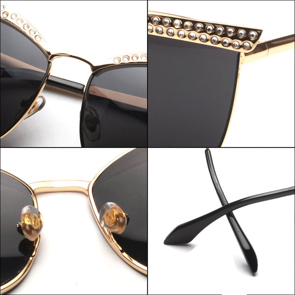 CZ Cat Eye Sunglasses