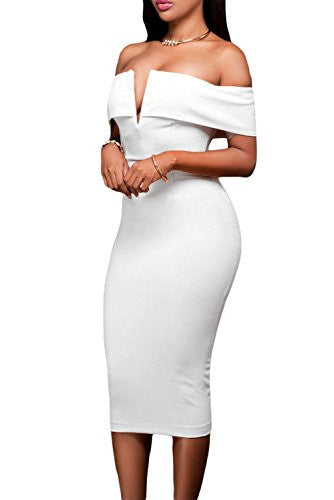 Nova V-Cut  Bodycon Dress