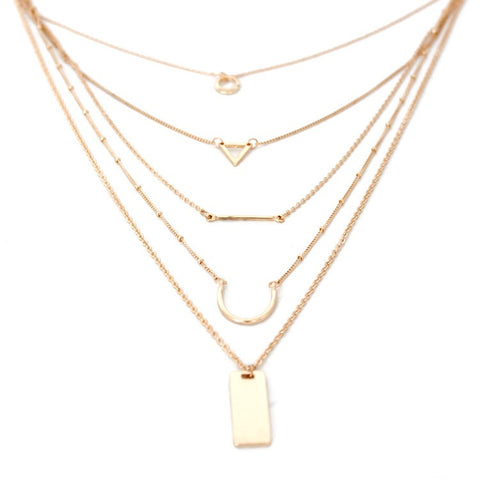 Geo Layer Necklace
