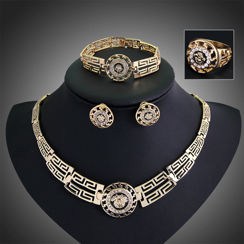 M Aztec Lion Jewelry Set- Marked Down 50%