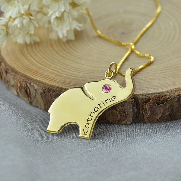 Elephant Birth Pendant