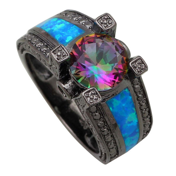 Royal Peacock Ring- Marked Down 20%