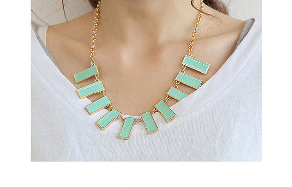 Side Bar M  Necklace