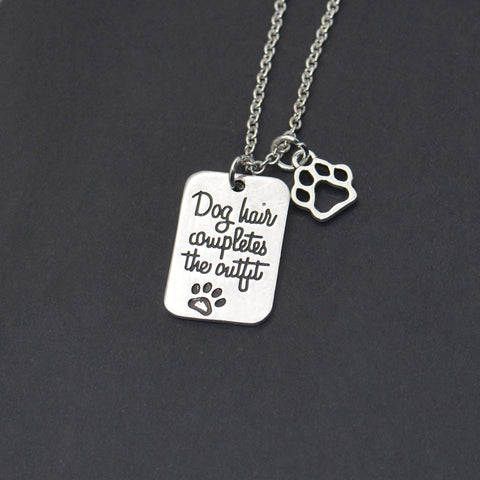I love Dogs Statement Chain