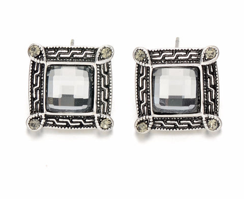 Retro Antique Crystal Studs